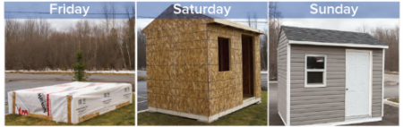 Shed Kits - Bytown Lumber