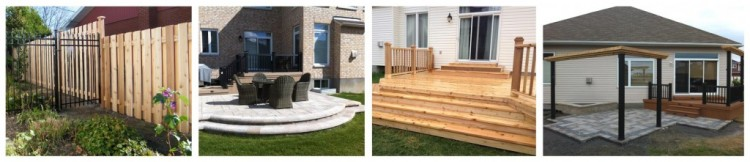 Landscaping, Decks and Fences - Bytown Lumber