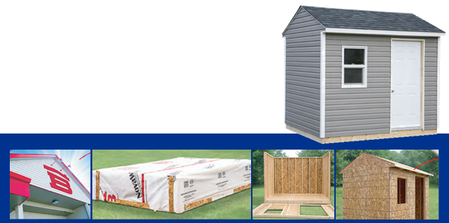 Express Shed Kits – 15% OFF!