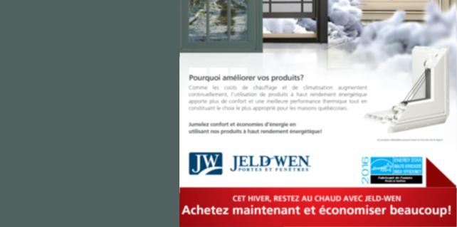 Promotion Jeld-Wen!