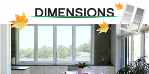 Dimensions windows Fall 2017 sale - Bytown Lumber