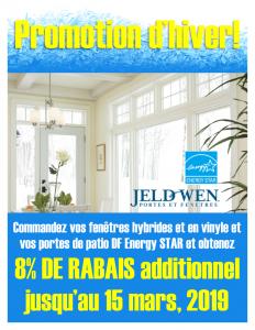 Vente de portes et fenetres Jeld-wen - Materiaux Bonhomme